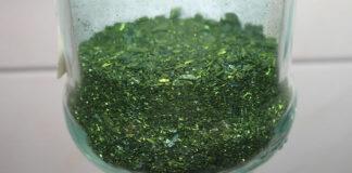 vert de malachite poudre