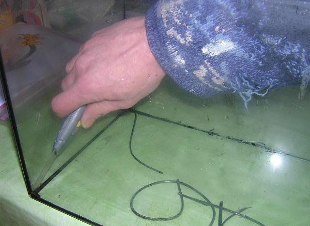 2-Astuce pour réparer un aquarium cassé