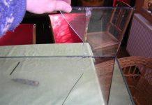 4-Astuce pour réparer un aquarium cassé