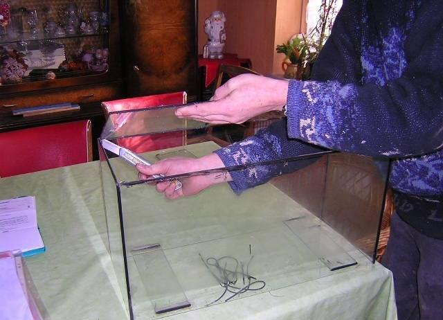 5-Astuce pour réparer un aquarium cassé