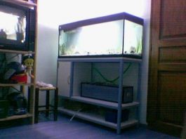 9-Fabrication d'un meuble de support pour aquarium