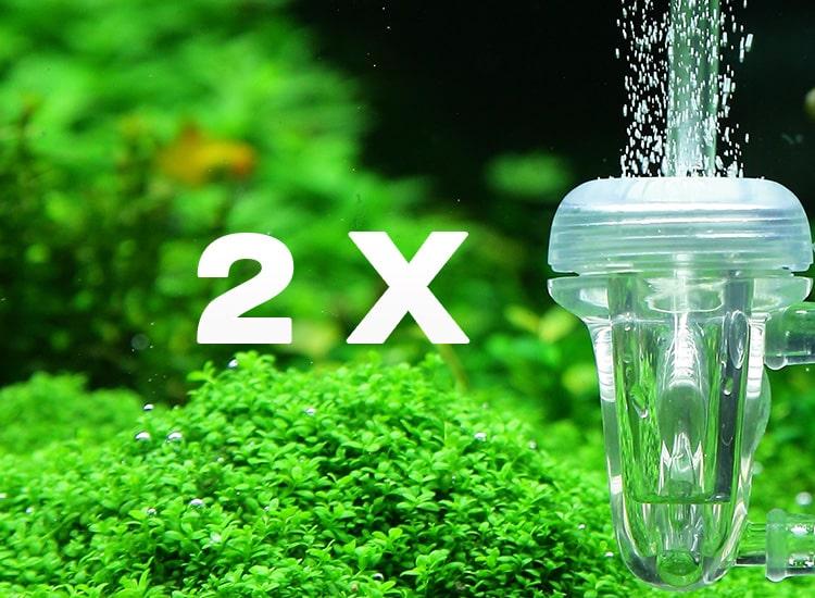 Alimenter deux aquariums à partir d'une seule bouteille de CO2
